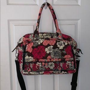 Vera Bradley work/travel bag